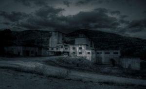 ..the abandoned mine... by Espen-Alexander
