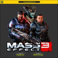 Mass Effect 3 - ICON by IvanCEs