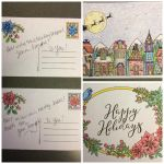 Colored Holiday Cards by JennDixonPhotography
