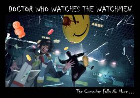 Doctor Who Watches the Watchmen by Aradrath