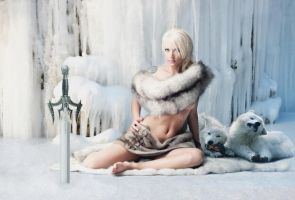 The ice queen by sgorbissa