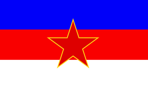 Flag of the People's Republic of Lusatia (1946-90) by ramones1986