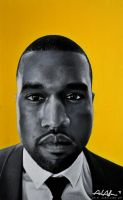 Kanye West Portrait by relaurellano