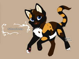 AidonxOretta for innocentbunny101 by Sterling-Adopts