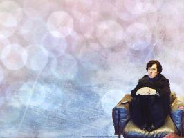 SherlockBBC: Couch Potato Wallpaper by KrisKenshin