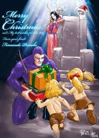 Merry Christmas Card by Fpeniche