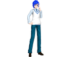 Project Diva Arcade Future Tone Campus Kaito by Luke-Flame