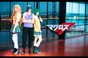 Macross Frontier  - I by HampusAndersson
