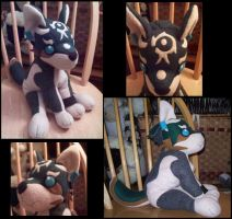 Wolf Link Plush by Miiroku