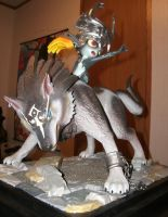 Wolf Link and Midna front by MadForHatters
