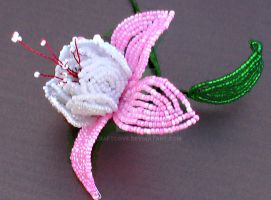Beaded Fuchsia by Craftcove