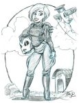 Rocketeer-ess Alexis by tombancroft