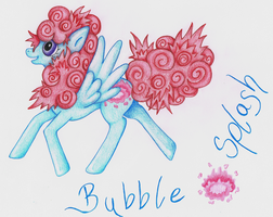 Pony Adoptable - Bubble Splash by LuciaSeriin