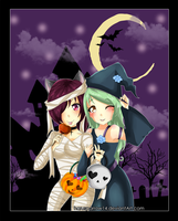 Wandering-Imitation Halloween! by harusparrow14