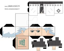 TOSHIRO BLEACH PAPERTOY by animepapertoys