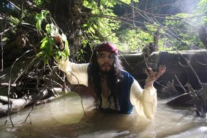 Capt. Jack Sparrow: The Fountain Be This Way by ZoraCatone