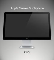 Apple Cinema Display 27 Icon by jakeroot