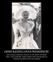Ooh! Kandi loves weddings! by p-l-richards