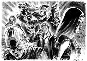 Guardians of the Galaxy Vol2 by flavianos
