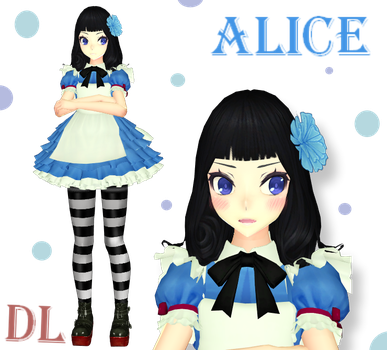[MMD] Alice Model +DL by Natt-Tenshi