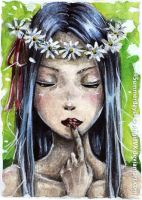 Anna Summer Style ACEO by AngieVX