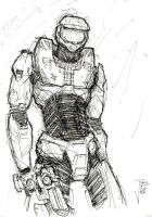 The Master Chief by Fuelreaver