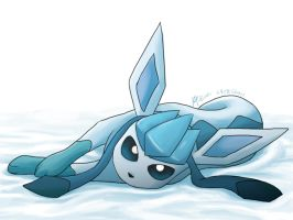 Glaceon by CygnusLeo