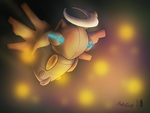 Shedinja used Confuse Ray by PokeGirl5