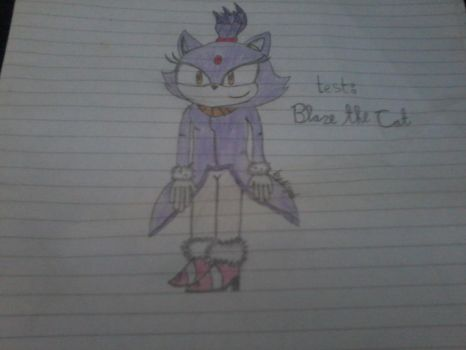 Test:Blaze the cat by AisyahShiepumpers28