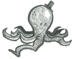 Octopus by worldskater224