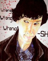 BBC Sherlock - Wrong? by Sukautto