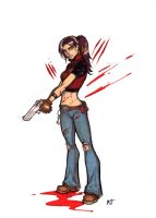 Claire Redfield Code Veronica by CrimsonArtz