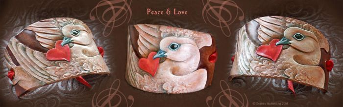 Peace + Love by phee-adornments