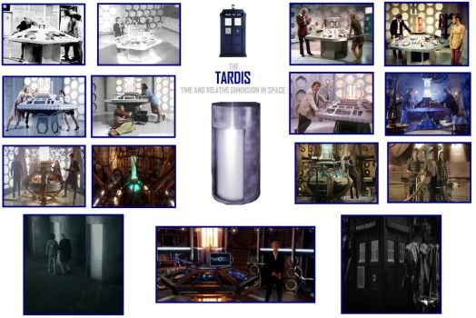 The Tardis - Time And Relative Dimension In Space by DoctorWhoOne
