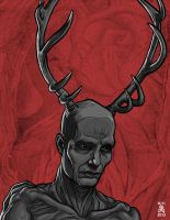 Hannibal-Antler-Man by quasilucid