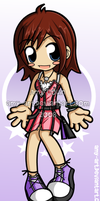 Kairi - Kingdom Hearts by amy-art