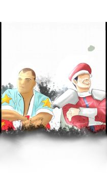 streetfighters 4 by kaijin19