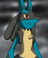 Lucario by SilverWolf6