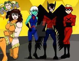 Teen Titans Next Generation HIVE Team One by Madness-Made-Fresh