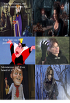 Disney villains react to their OUT counterparts by KitsuneLenali