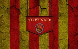 Gryffindor Wallpaper (Cracked wall saga) by ShaneBlack