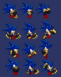 My Sonic pants 2k14 pixel arts [PNG RELEASE] by X-LordStar-X
