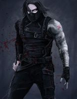 The Winter Soldier by PatheticMortal