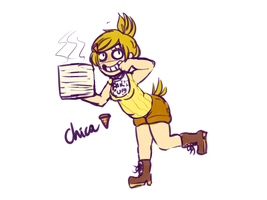 FNAF human chica by iNuts