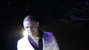 Larry Hernandez at the concert by OgJimrock