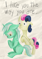 I like you the way you are by Selyte