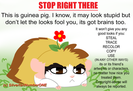 Marsu is against copyright-abuse!! by SilverfanNumberONE