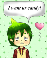 Amaimon wants ur candy by SparklingHoney-Q