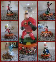 Character Glasses: The Incredibles by amandas-crafts
