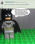 Ask the Lego Superheroes - Answer #2 by SonSilvShad18